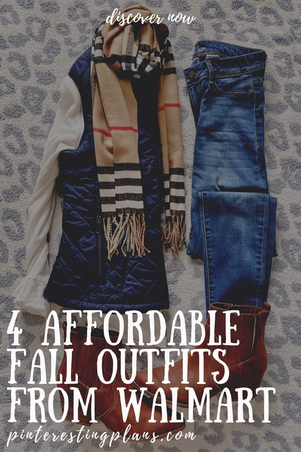 4 AFFORDABLE FALL OUTFITS FROM WALMART