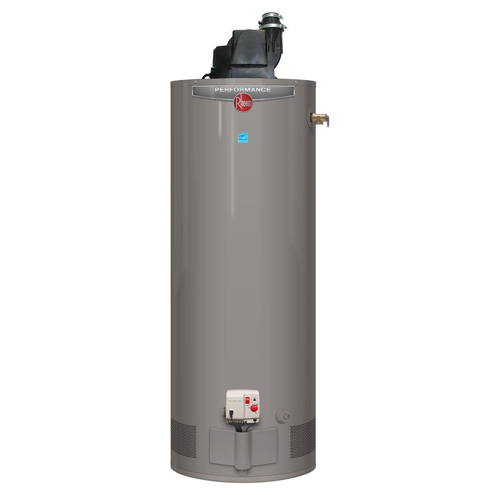 Rheem Performance 40 Gal Tall 6 Year 40 000 Btu Natural Gas Power Vent Tank Water Heater Xg40t06pv40u0 In 2020 Natural Gas Water Heater Solar Energy Panels Solar Panels