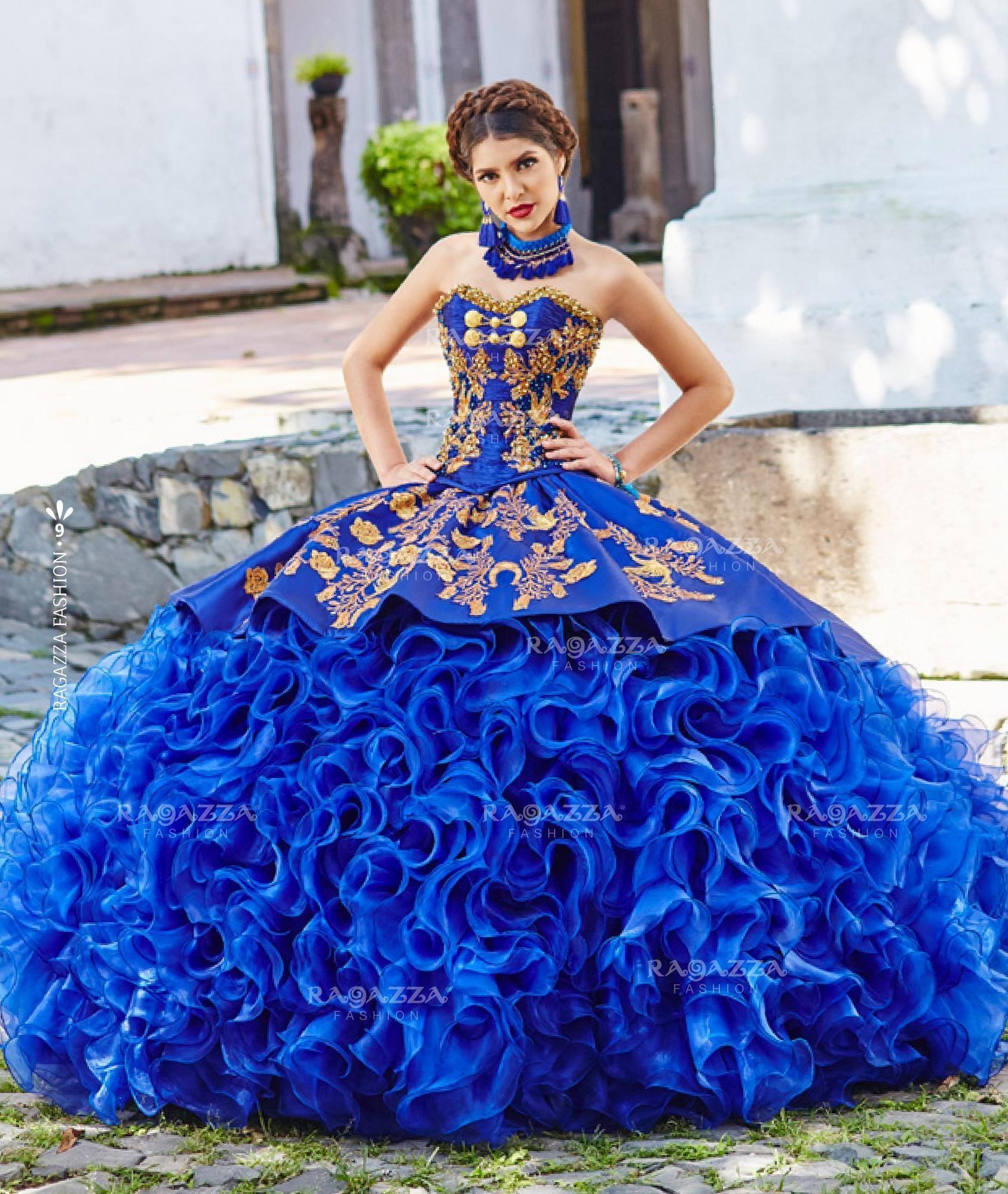 Quinceanera Dresses Disciplined Off Shoulder Blue Quinceanera Dresses Ball Gown 2019 Bow Organza Vestidos De 15 Anos Puffy Sweet 16 Prom Dress Long