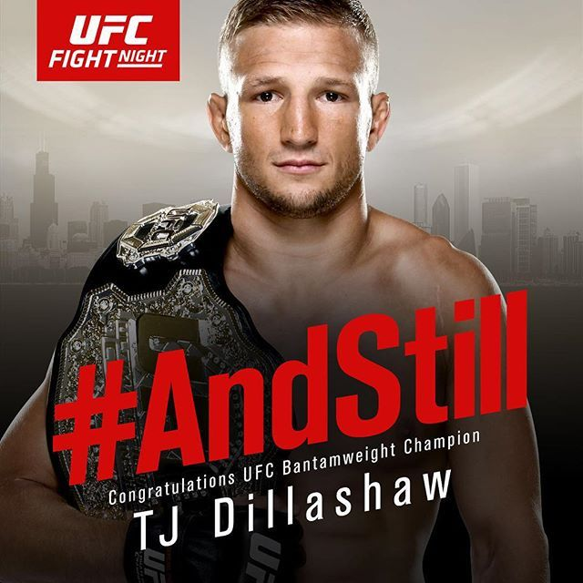 """AndStill"" champion TJ Dillashaw : if you love #MMA, you'll love the #UFC & #MixedMartialArts inspired fashion at CageCult: http://cagecult.com/mma"