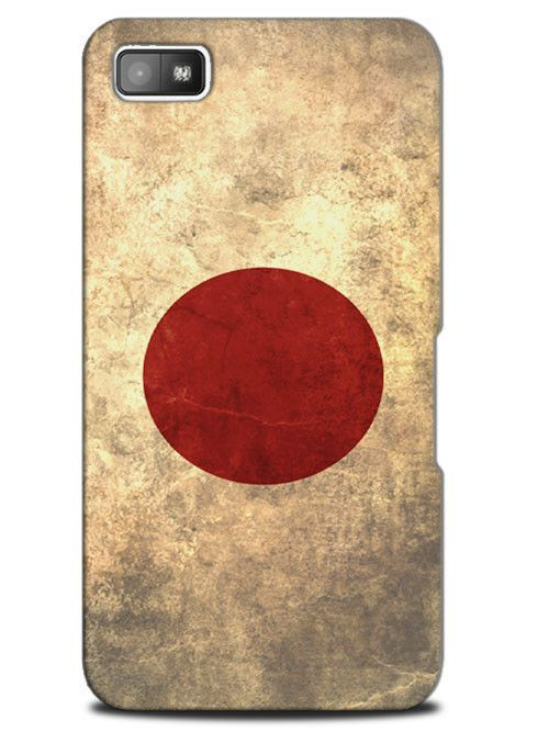 Japan Vintage Country Flag Case Cover Design for Blackberry