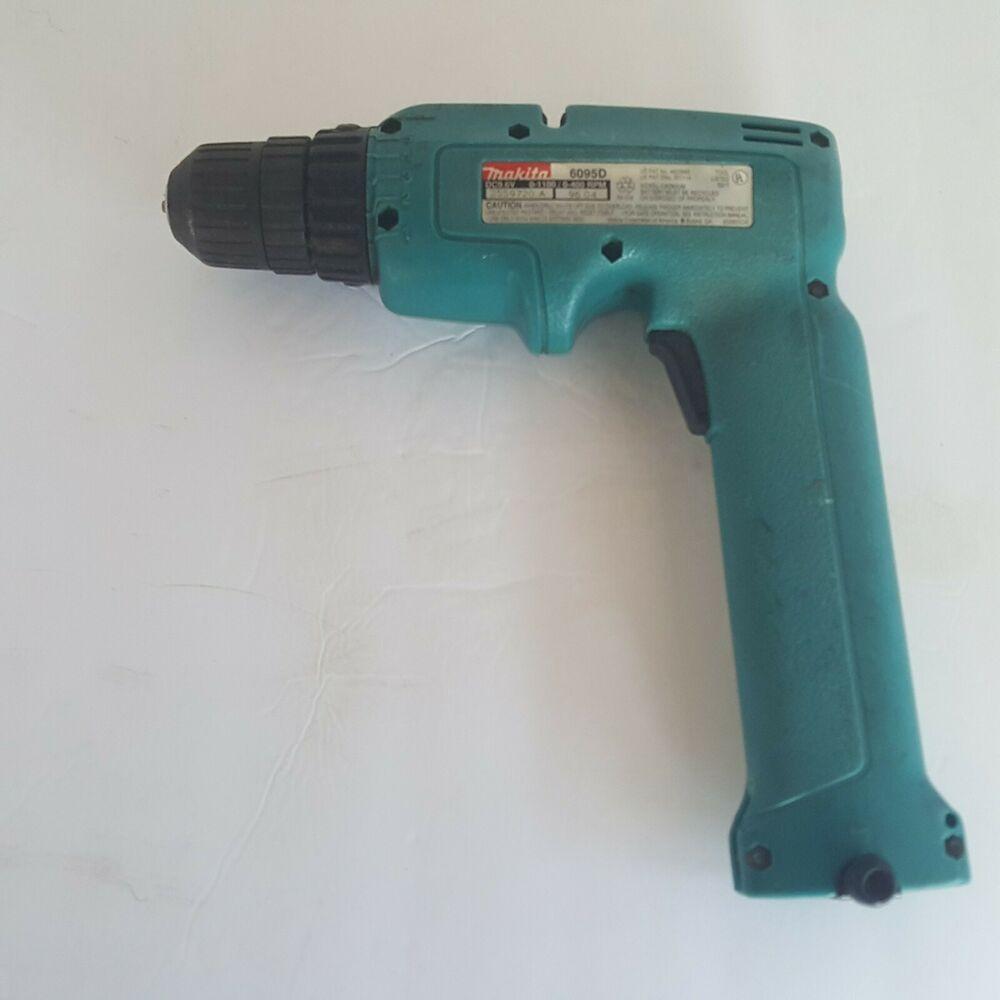 Makita 6095d 9 6v 3 8 Cordless Driver Drill Tool Keyless Chuck Drill Only Makita Drill Makita Keyless