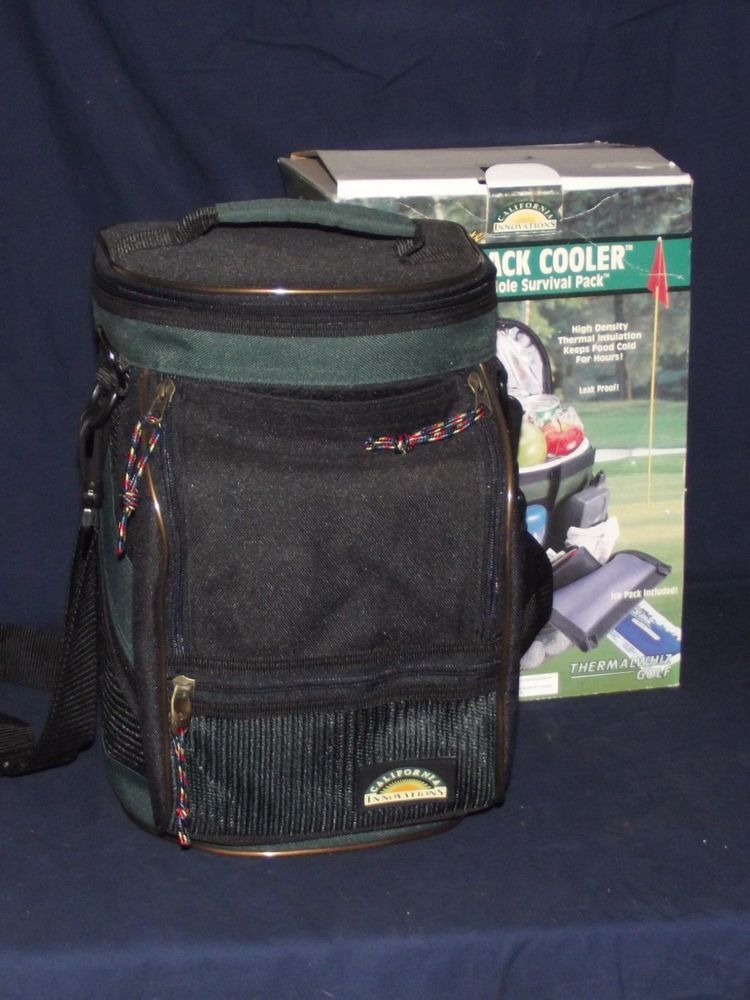 Ultimate Golf Pack Cooler California Innovations 18 Hole Survival Pack Picnic Bag Cooler Survival