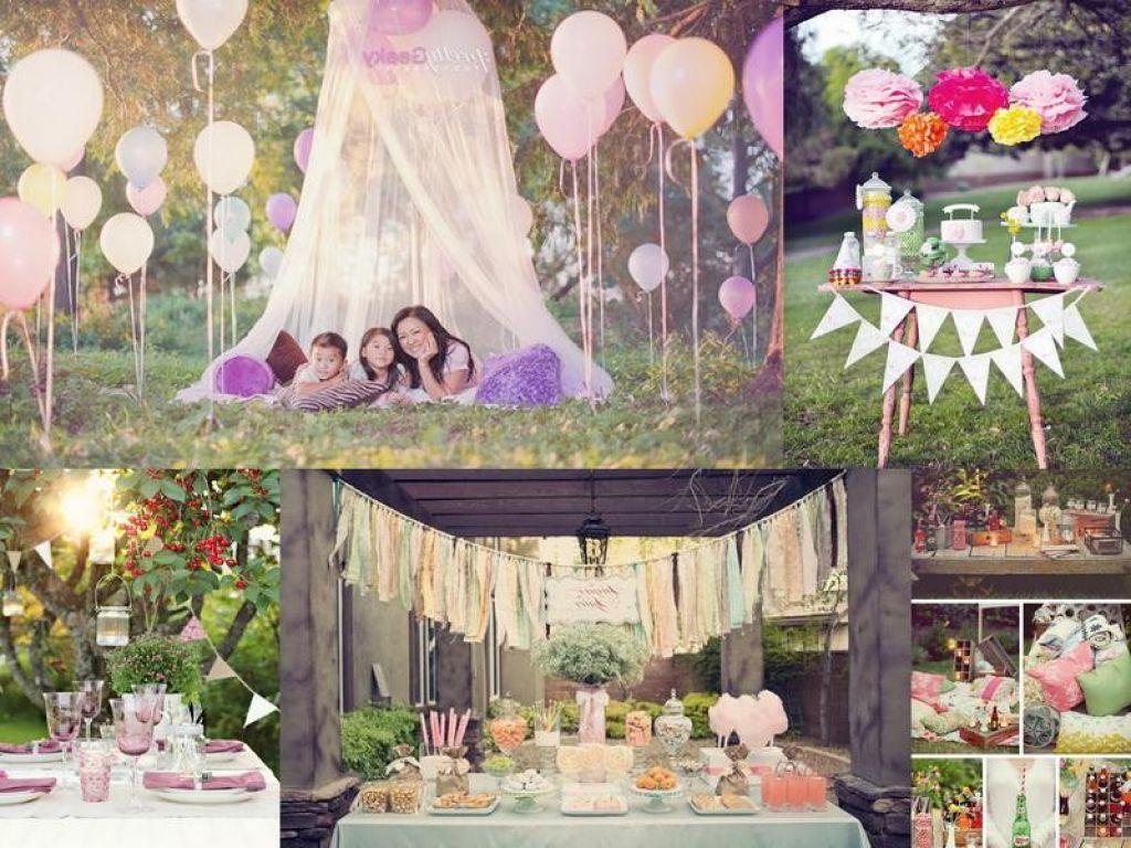Elegant Outdoor Party Decorations