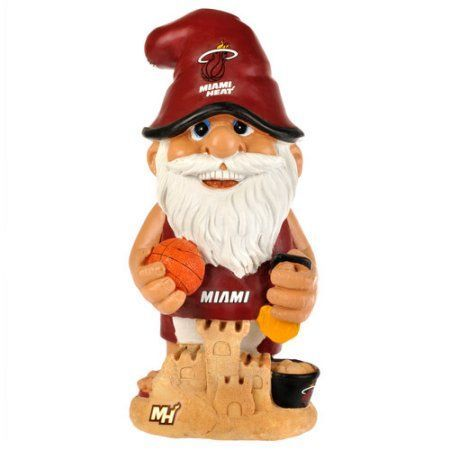 Forever Collectibles NBA Thematic Gnome Version 2, Miami Heat, Red