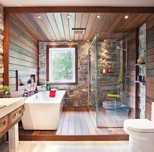 Les tendances salles de bain 2016 en 24 décors Pinterest
