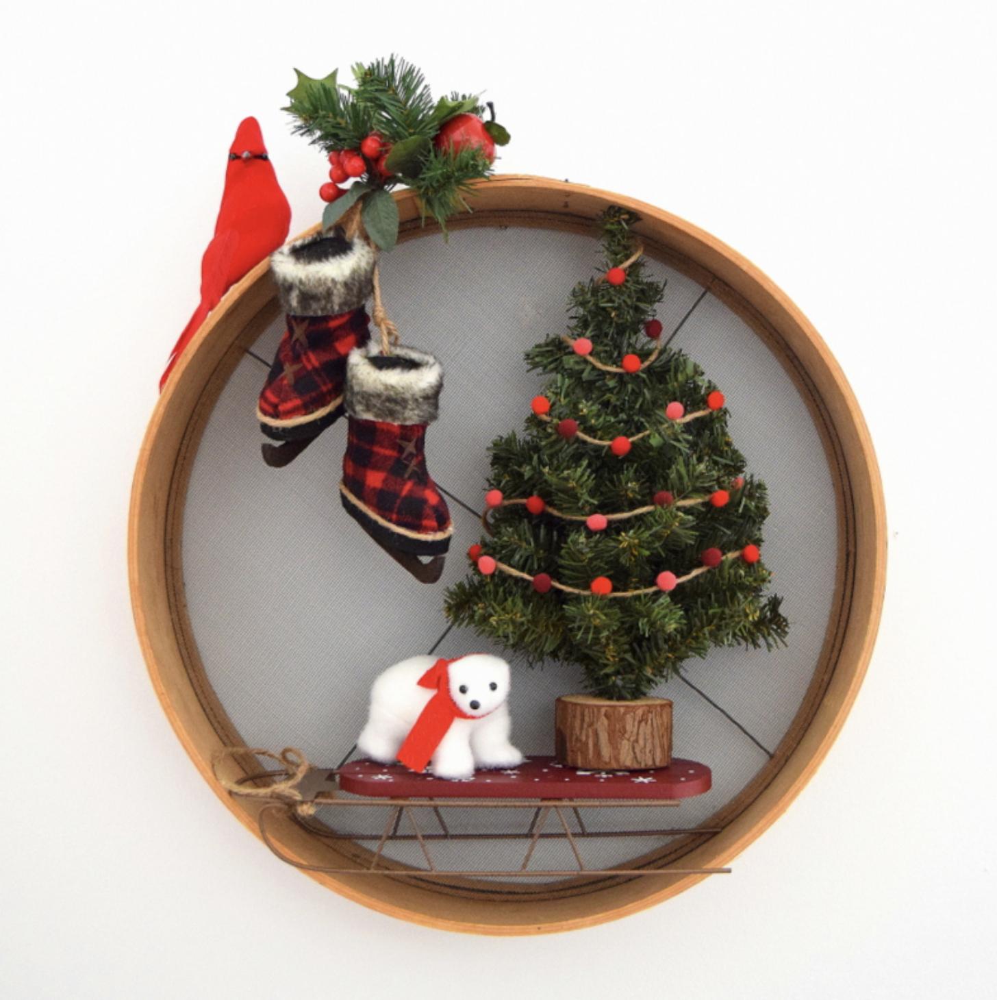 Cheery Christmas Thrift Store Makeovers Christmas