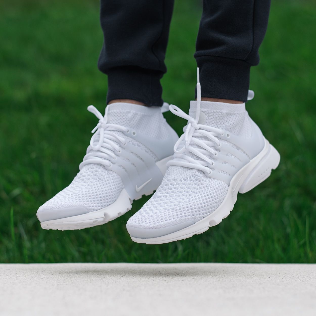 is the nike air presto ultra flyknit triple white a must. Black Bedroom Furniture Sets. Home Design Ideas