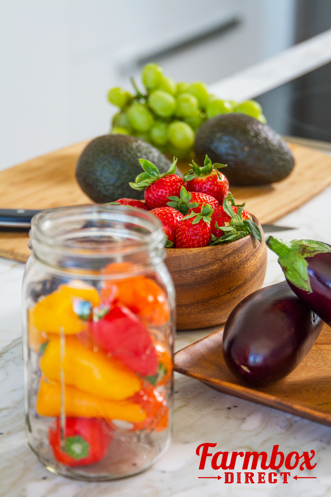Fresh & Healthy produce delivered to your door! Organic