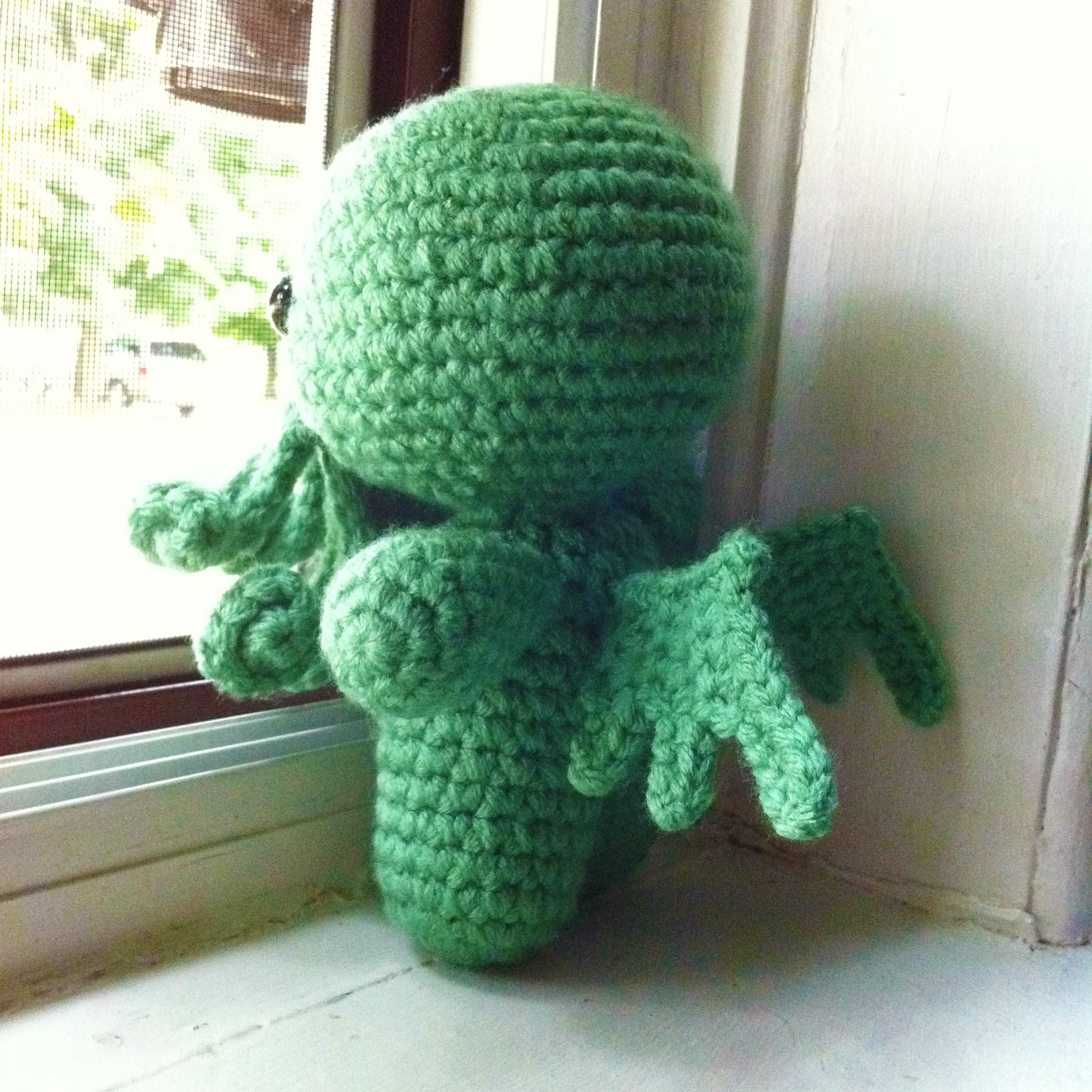 Free pattern friday cthulhu cthulhu crochet and crocheted toys free pattern friday cthulhu bankloansurffo Choice Image