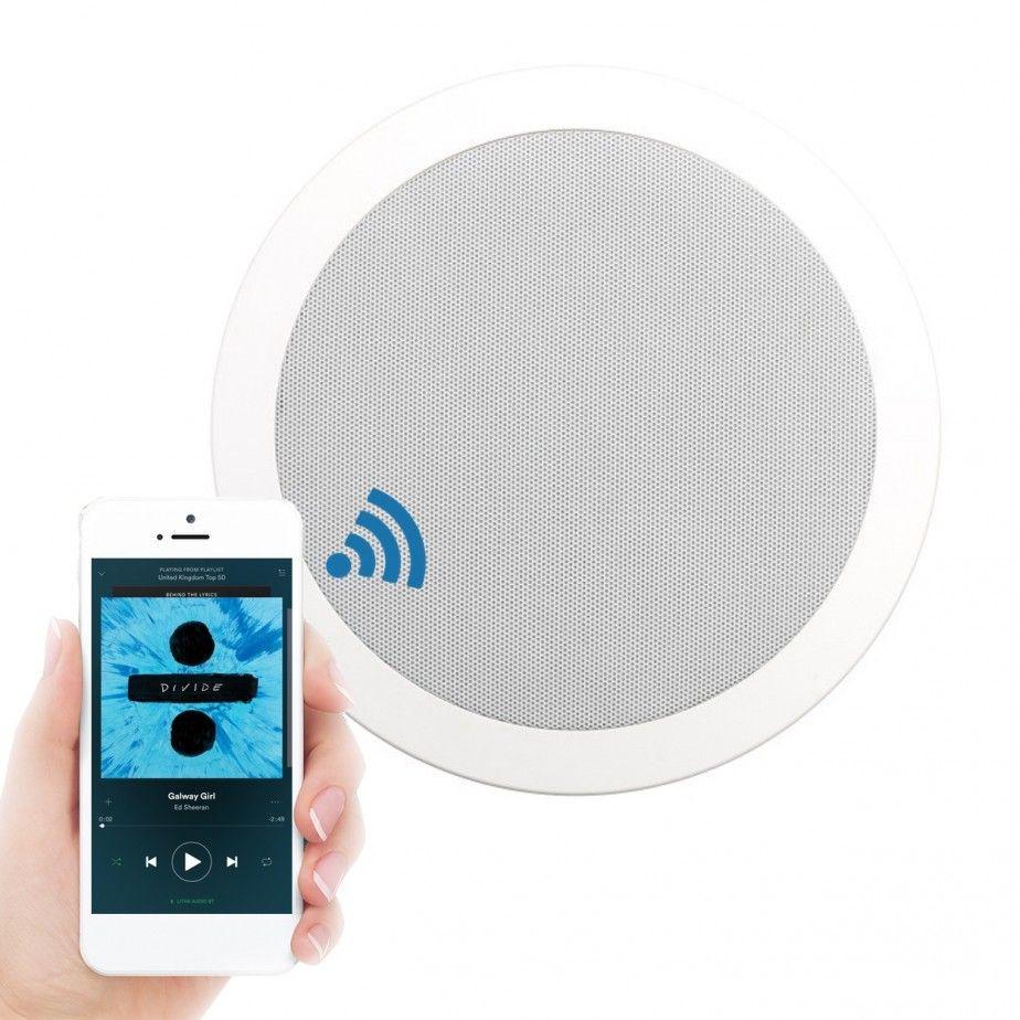 Express Wireless Bathroom Bluetooth Ceiling Speaker System Inc