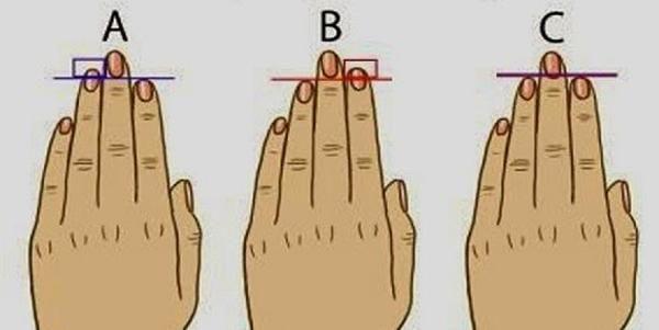 Significato della lunghezza del dito - Che cosa rivela la lunghezza del dito-6066