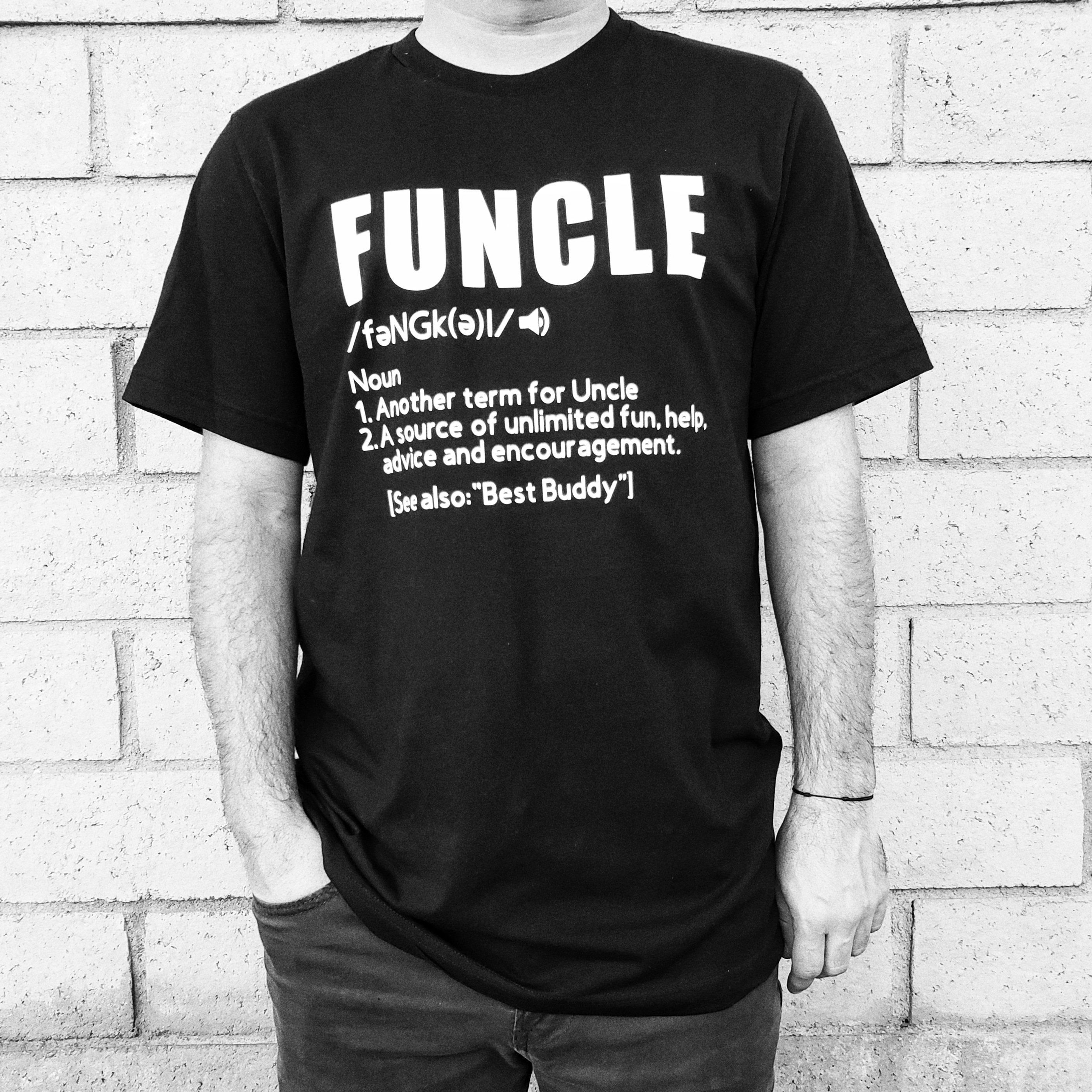 0d5f66750 Excited to share this item from my #etsy shop: FUNCLE | Funcle Tee Shirt |  Funcle Shirt| Funcle Definition Shirt | Fun Uncle Shirt | Fun Uncle | Uncle  Shirt