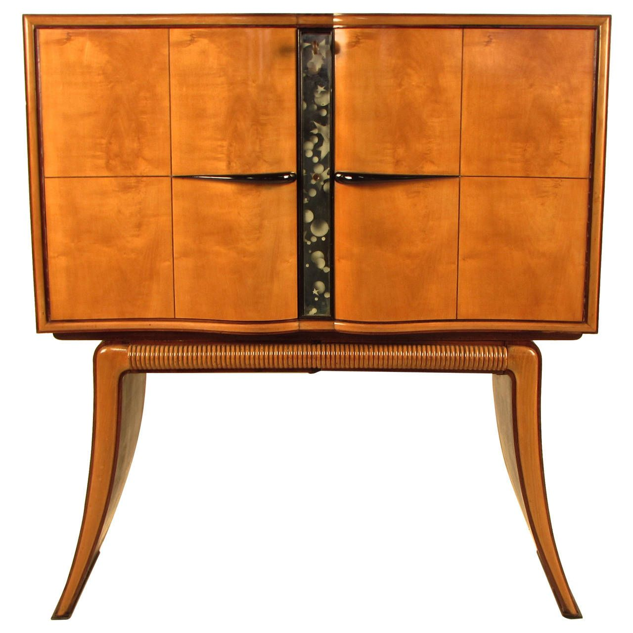 Rosewood And Maple Bar Cabinet By Paolo Buffa Italy Circa 1940 1stdibs Com Maple Bars Furniture Bar Cabinet