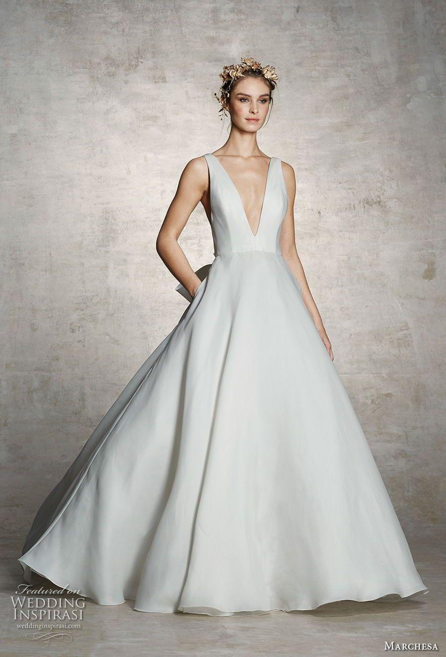 Marchesa Spring 2019 Wedding Dresses Wedding Inspirasi Marchesa Bridal Wedding Dress With Pockets Marchesa Wedding Dress [ 1326 x 900 Pixel ]