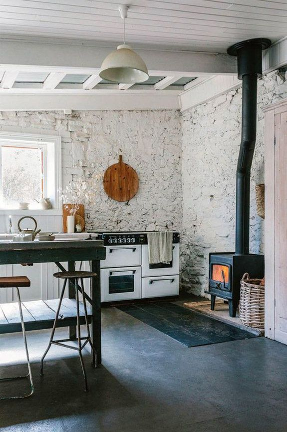 At home in adelaide also small kitchen storage ideas rustic rh pinterest