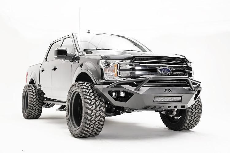 Fab Fours Ff18 D4552 1 Ford F150 2018 Vengeance Front Bumper With