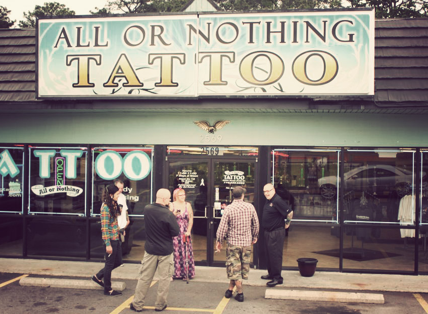 best tattoo shops in atlanta-all or nothing tattoo | All Or Nothing ...