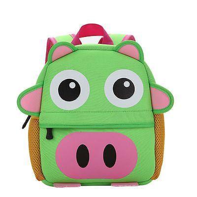 05fb86480a9b Fashion Toddler Kid Children Boy Girl 3D Cartoon Animal Shoulder Bag  Backpack School Bag Kindergarten
