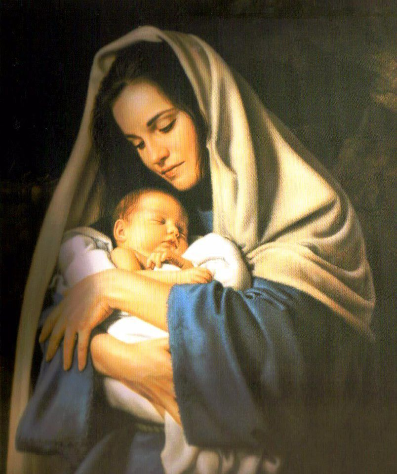 Image result for picture of mary and jesus