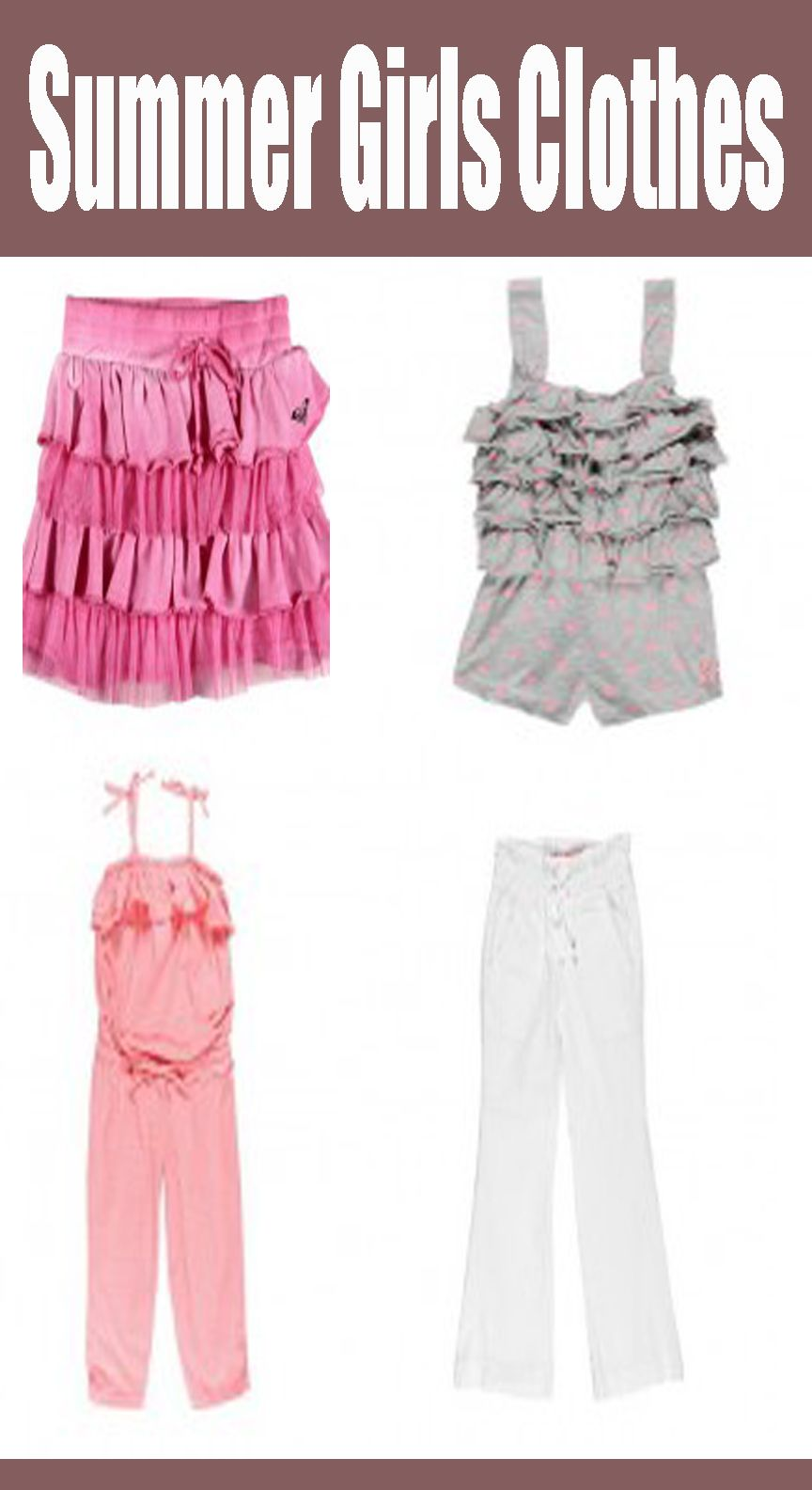 Summer Girls Clothes