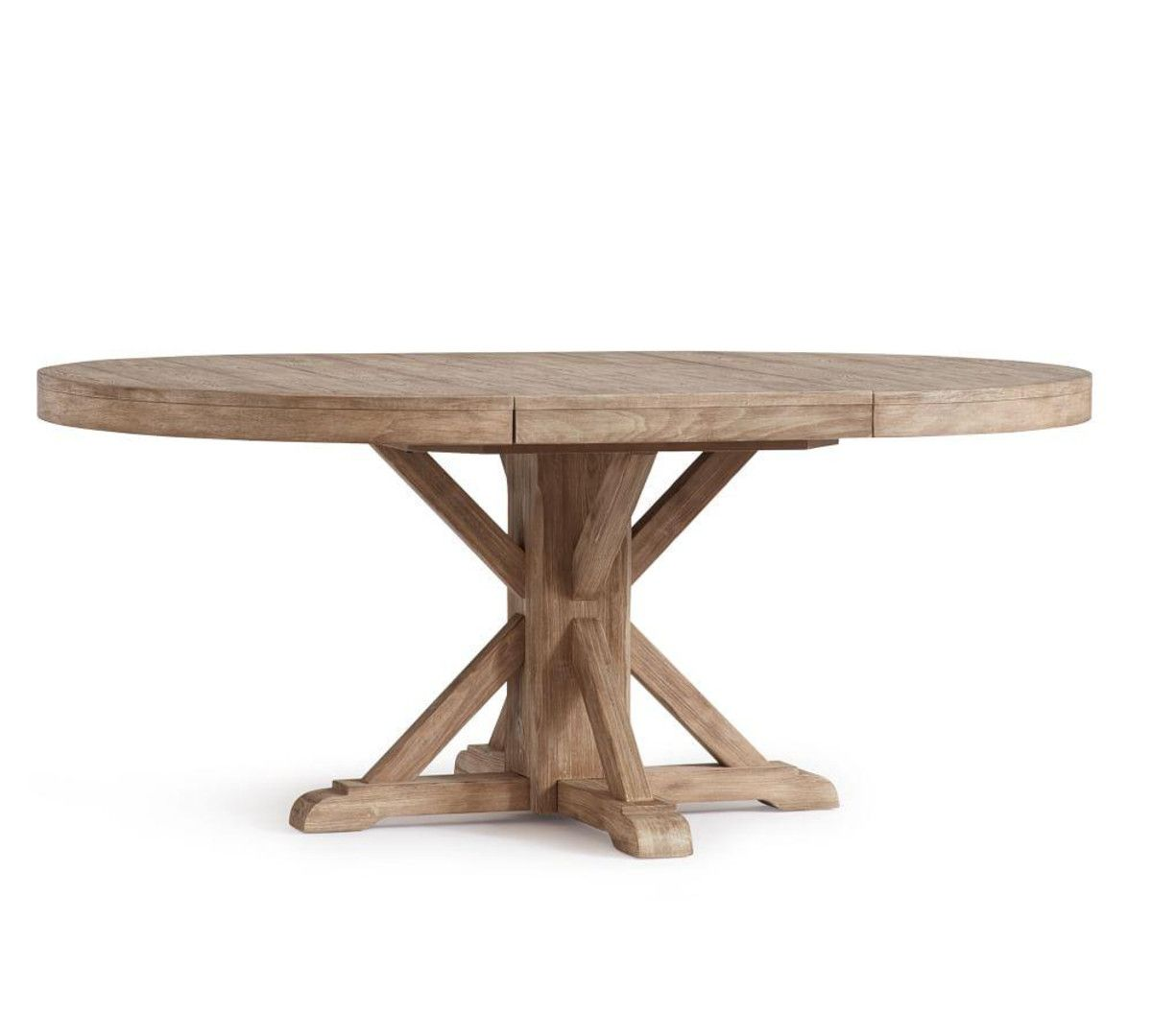 Benchwright Extending Round Table Seadrift 123 183 Cm
