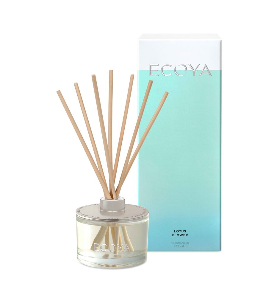 Ecoya Lotus Flower Reed Diffuser Can Be Used In The Home Or Office