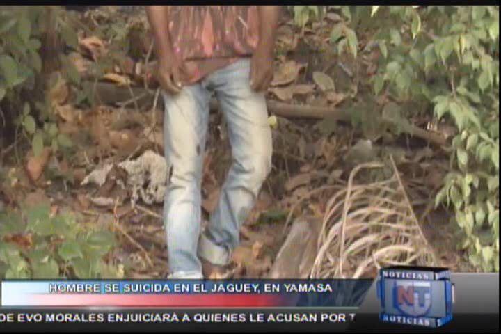 Hombre Se Suicida Luego De Haber Tenido Una Discusión Con Una Mujer #Video