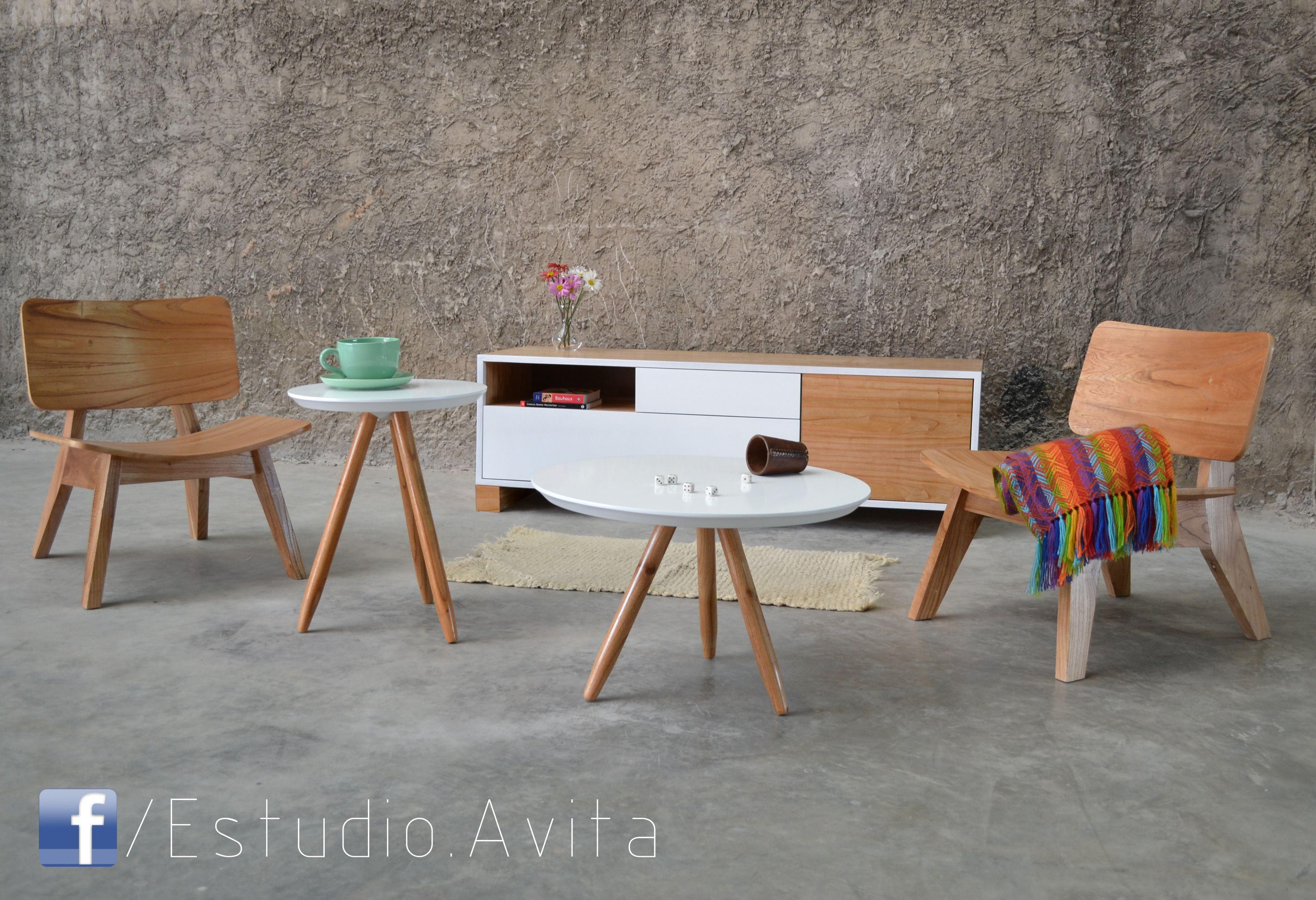Muebles De Madera Maciza En Paraiso Materas Rosario Mesas  # Muebles Diseno Rosario