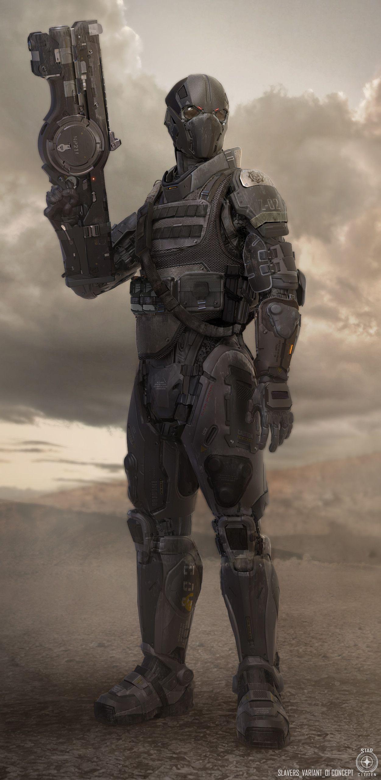 Concept Art Star Citizen Armor