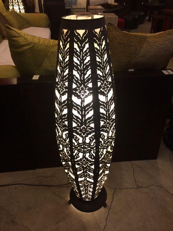 Balinese Floor Lamp - Tulip | Balinese Contemporary | Pinterest ...
