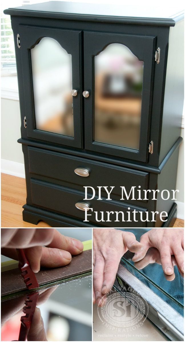 diy mirrored furniture mirrored chest drawer diy mirrored furniture this is really inexpensive way to update outdated furniture by adding mirror easy custom cut with 5 tool how to cut mirror for furniture build me diy