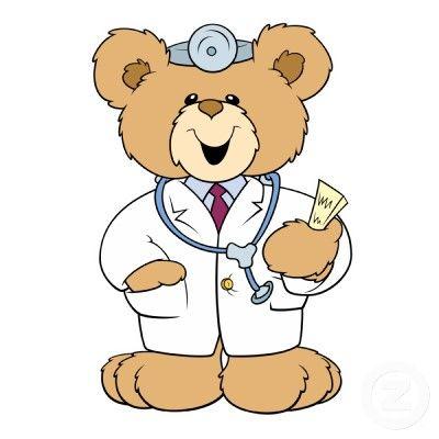 Teddy Bear Doctor Clipart Clipart Medico Desenho Fotos De Enfermagem Boneca Desenho