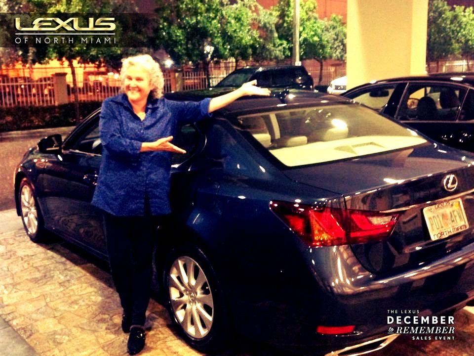 Congrats to Fredda Rosenbaum on her new 2014 Lexus GS 350