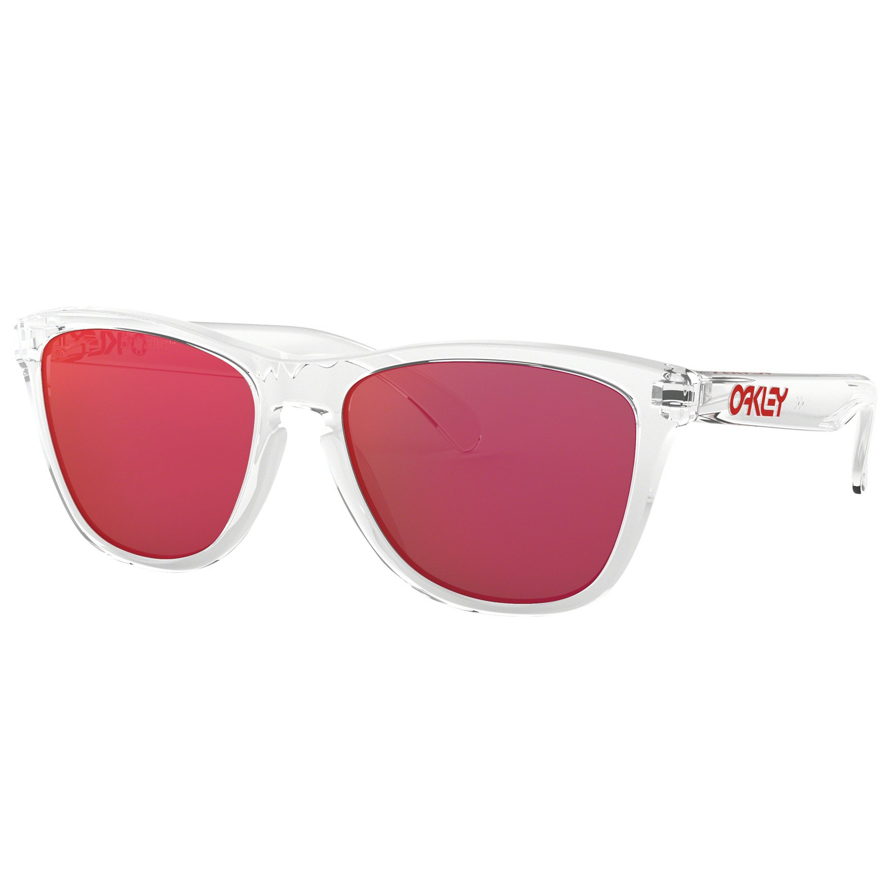 Oakley Frogskins Sunglasses Crystal Clear Torch