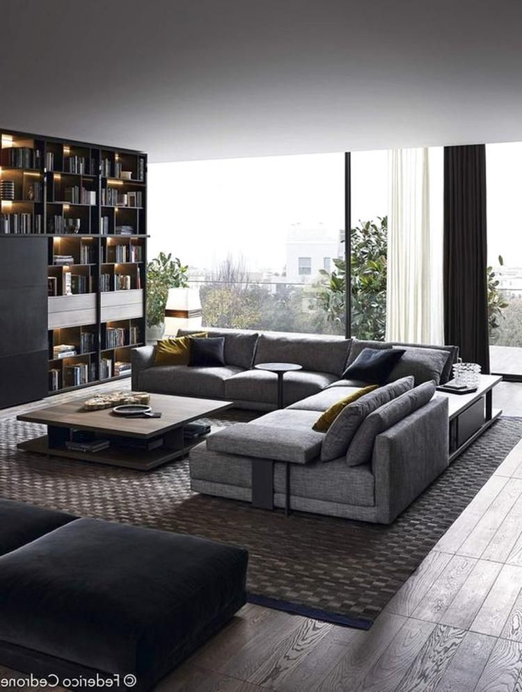 Living Room Modern Contemporary Interior Design