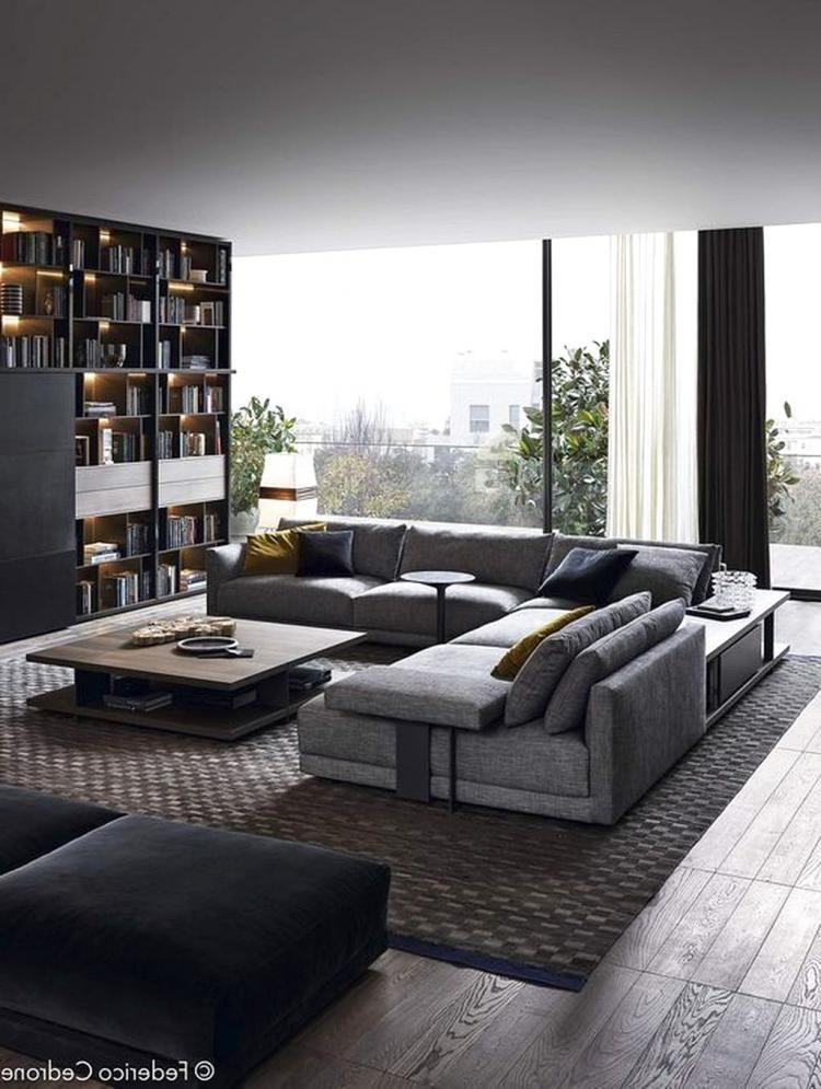 30 Gorgeous Urban Contemporary Living Room Decor Ideas Living