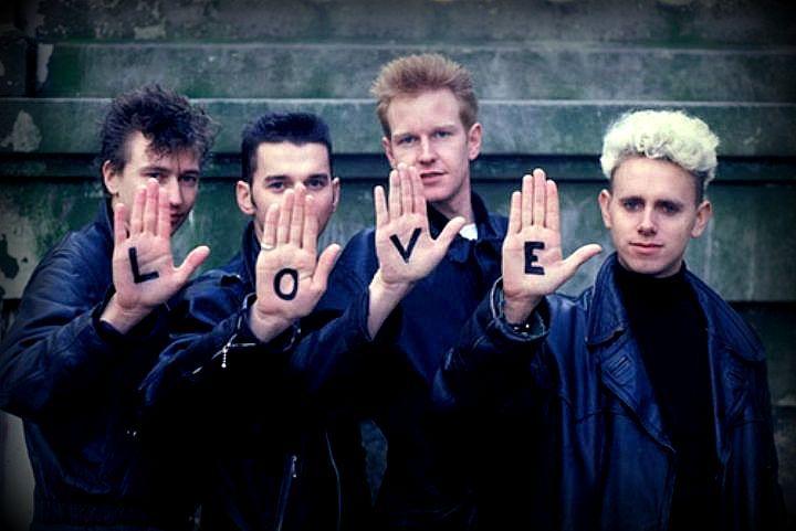 Depeche Mode with Alan Wilder (1982-1995) | Depeche mode, Enjoy ...