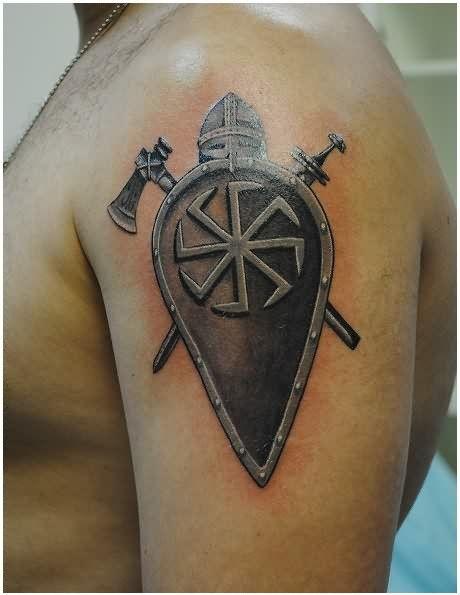 pingl par richard sur tatouages vikings pinterest tatouage viking tatouage et vikings. Black Bedroom Furniture Sets. Home Design Ideas