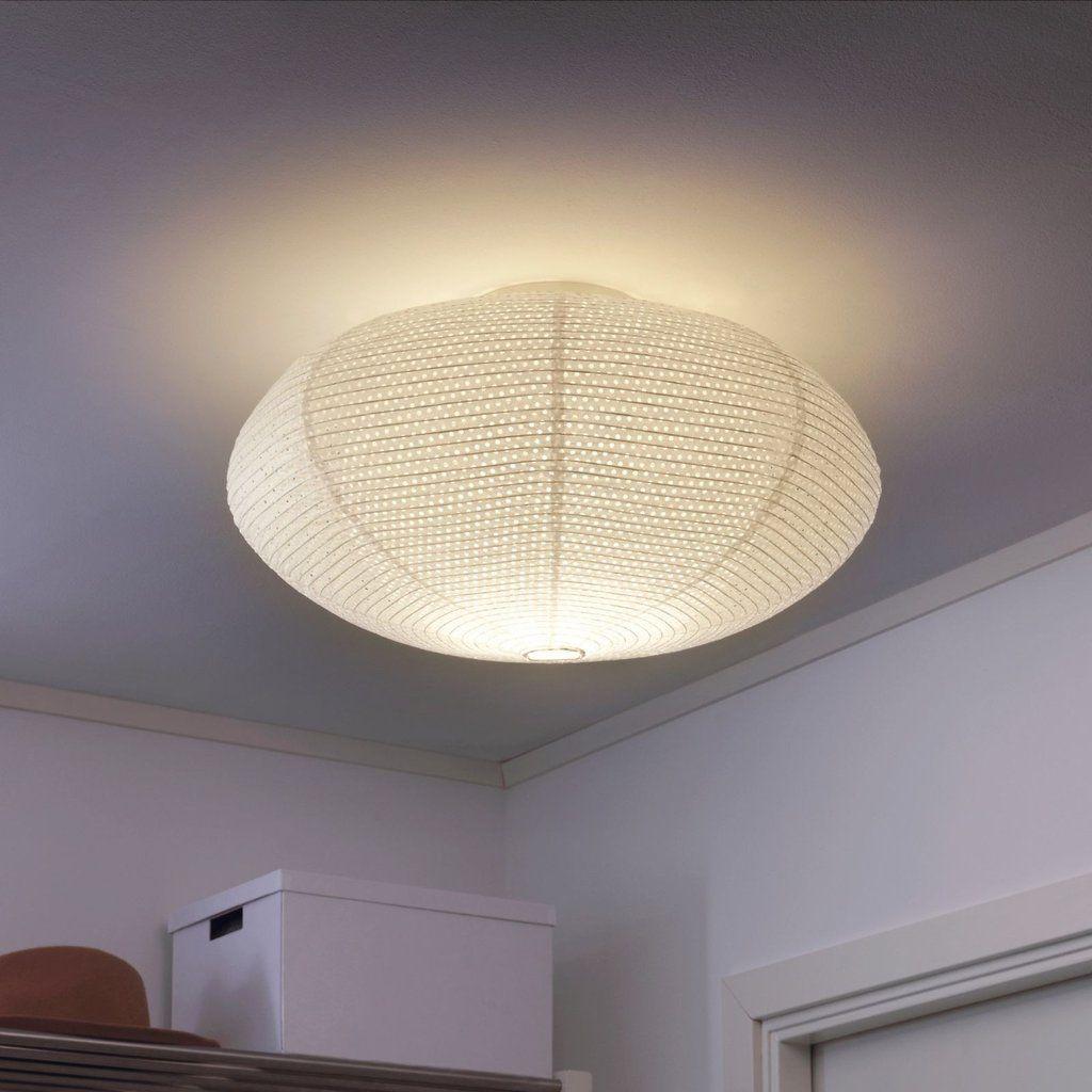 Ikea Sollefte Solleftea Rice Paper Ceiling Light Xcm Modern Lights