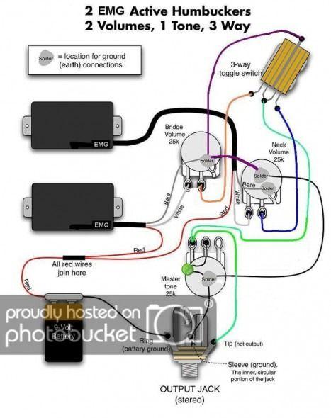 Emg 81 60 Wiring Diagram Guitar pickups