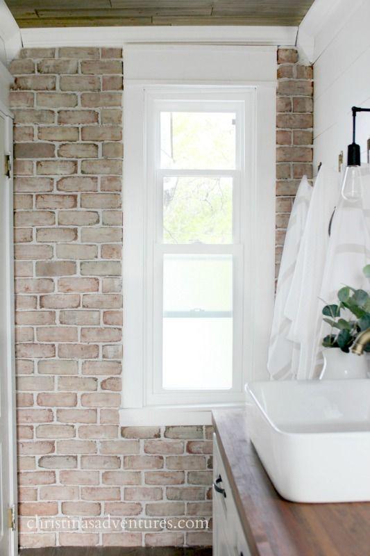 How to install brick veneer (& where to buy it | Bricks, Walls and ...