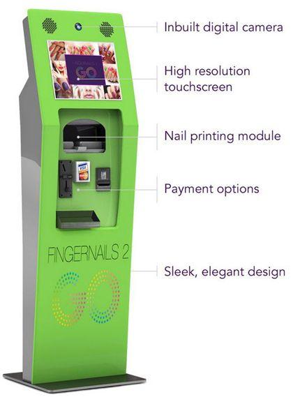 Nail Kiosk Interesting Kiosks Vending Machines Pinterest Kiosk