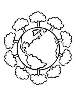 Happy Earth Day Coloring Pages for Kids Happy Earth Day Coloring