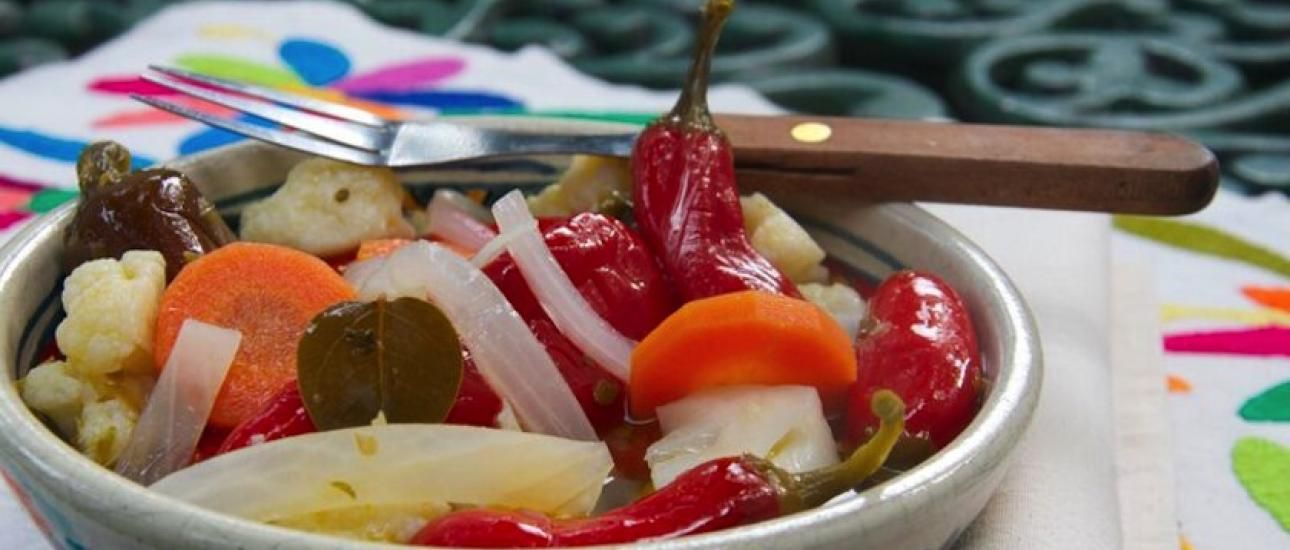 It's easy to go to the grocery store to buy pickled vegetables and chiles, but making them at home is simple and the results are delicious! Eat Chiles y Verduras en Escabeche w ith
