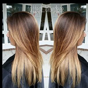 toffee brown to caramel blonde ombre with balayage hair pinterest blondinen karamell und. Black Bedroom Furniture Sets. Home Design Ideas