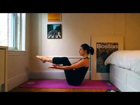 Videos: Cardio Yoga Moves That Break a Sweat