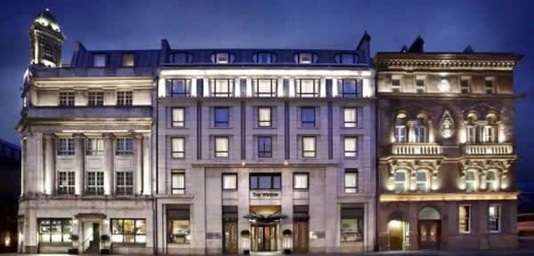 Westin Five Star Hotel. Dublin, Ireland