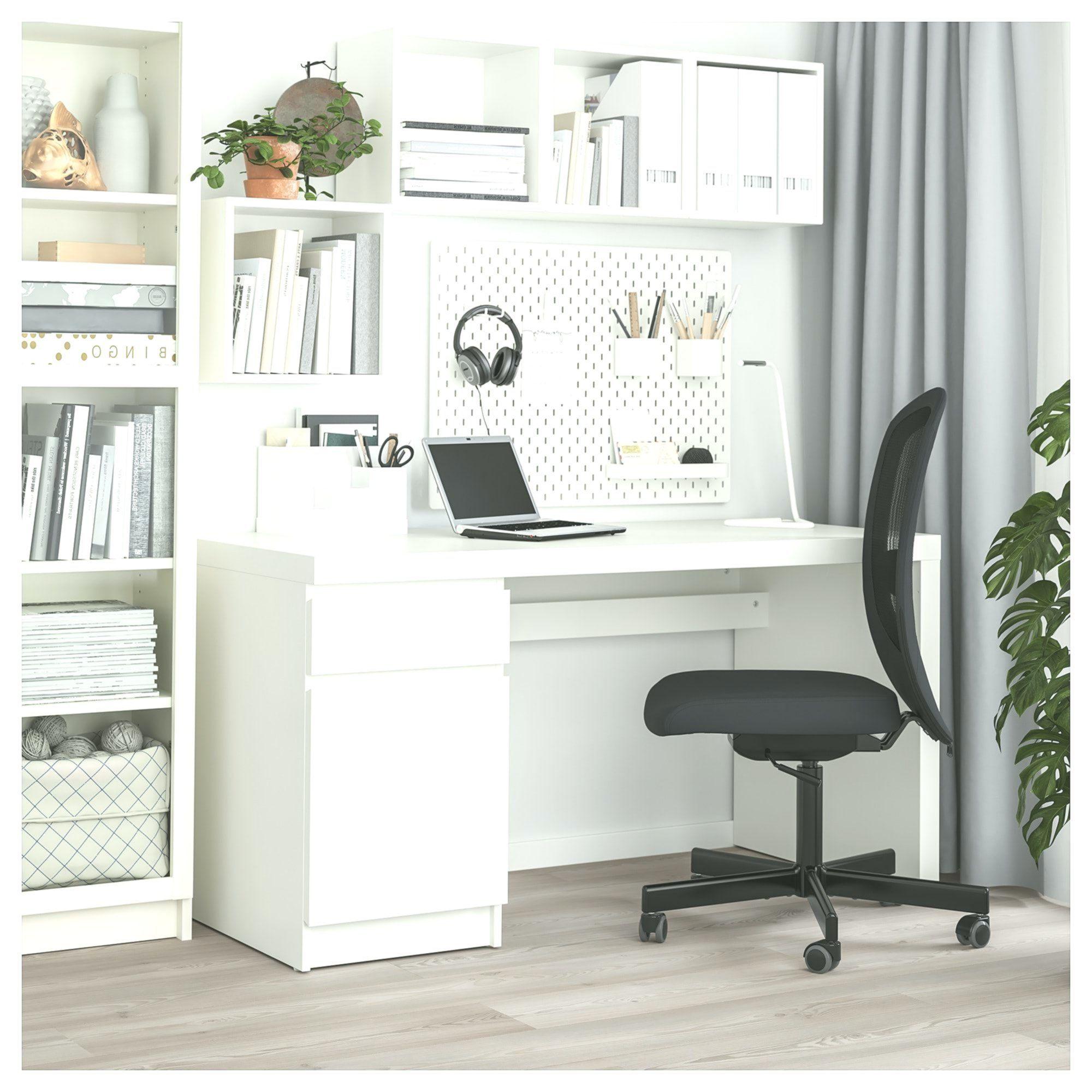 Ikea Schreibtisch Malm Weiß 2021