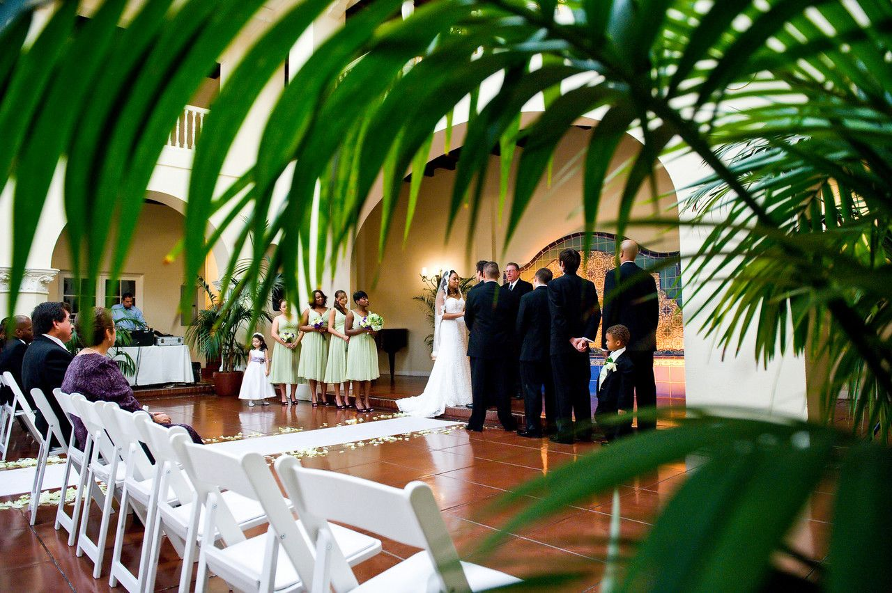 Wedding Ceremony And Reception Venue At Ebell Club In Long Beach